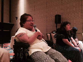 OMOD speaker Renee kicks off our session